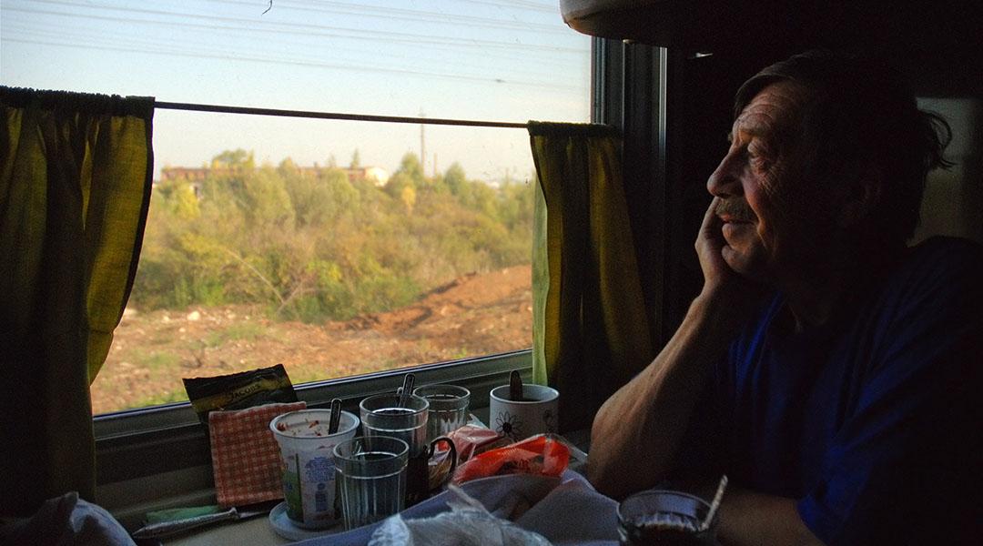 Leven in de trein TransSiberië express