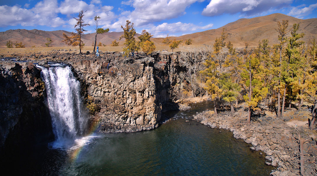 Orkhon waterval Mongolië
