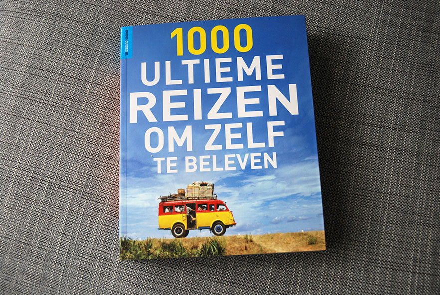 Reisboek ter voorbereiding van een nieuwe reis