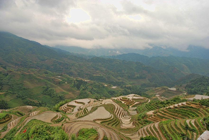 Longsheng rijstterrassen