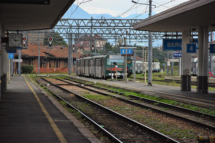 Bergamo naar Milaan trein