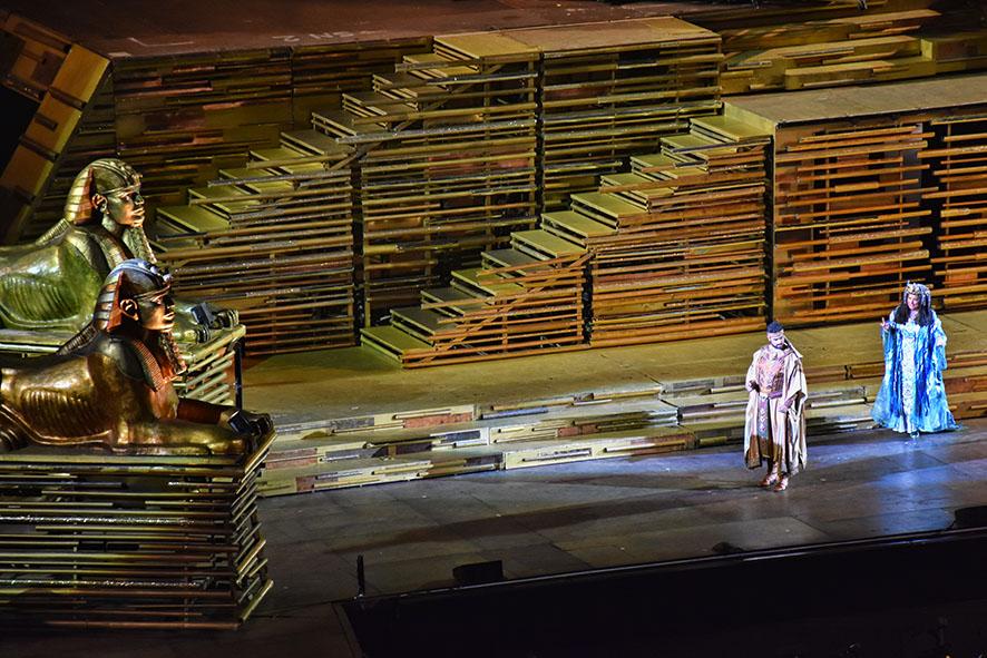 Opera Aida Verona Italië