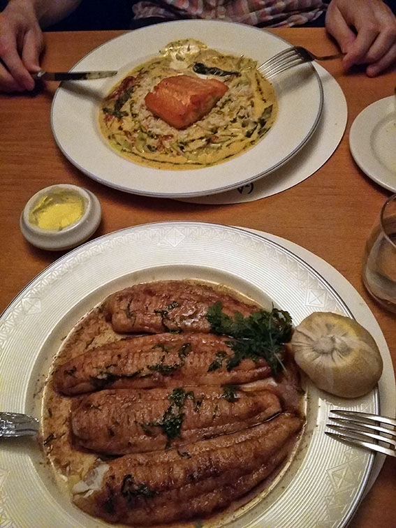 Eten in restaurant Gamba in Glasgow