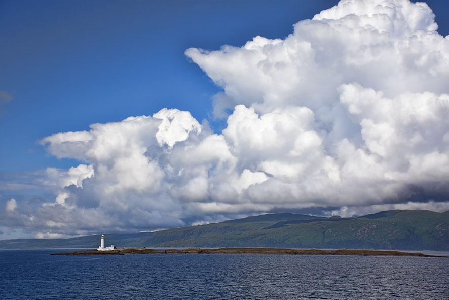 Ferry naar eiland van Mull