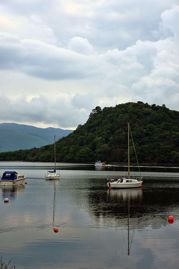 Loch Lomond in Schotland