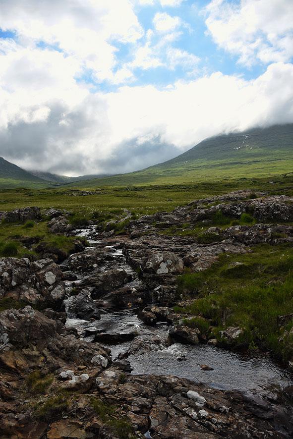 Berglandschap Ilse of Mull
