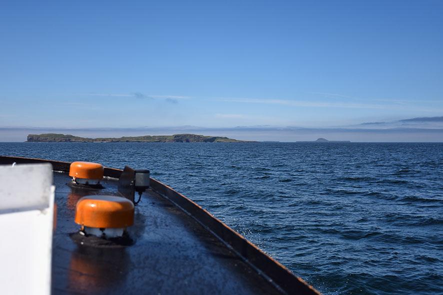 Boottour Staffa en Lunga Schotland