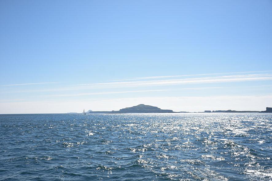 Boottour Staffa en Lunga zonsondergang