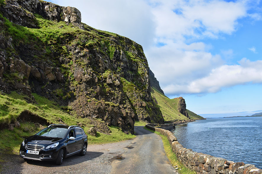 Roadtrip kust Isle of Mull Schotland