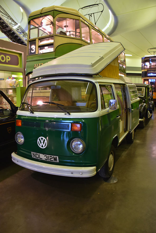 Busje transport museum Glasgow