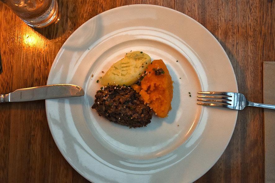 Ubiquitous Chip vegetarische haggis Glasgow
