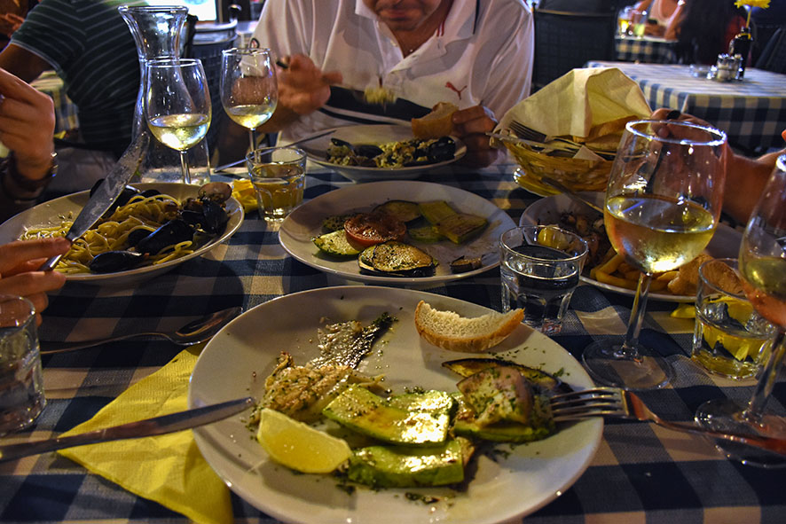 Eten in Koper Slovenië