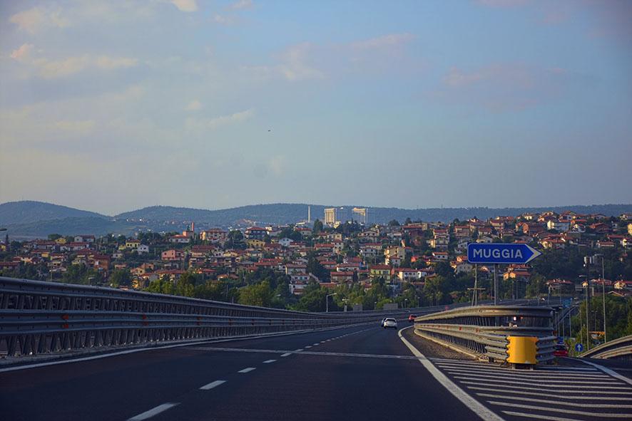 De weg naar Triëst