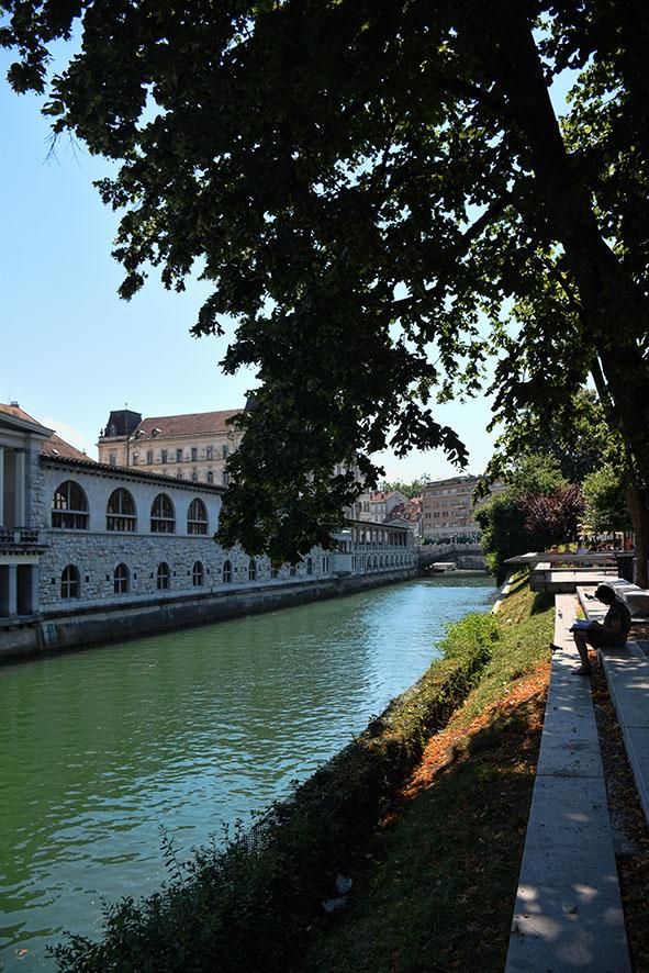 Binnenstad Ljubljana