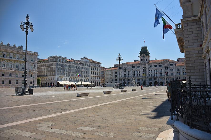 Piazza Unità d'Italia in Triëst