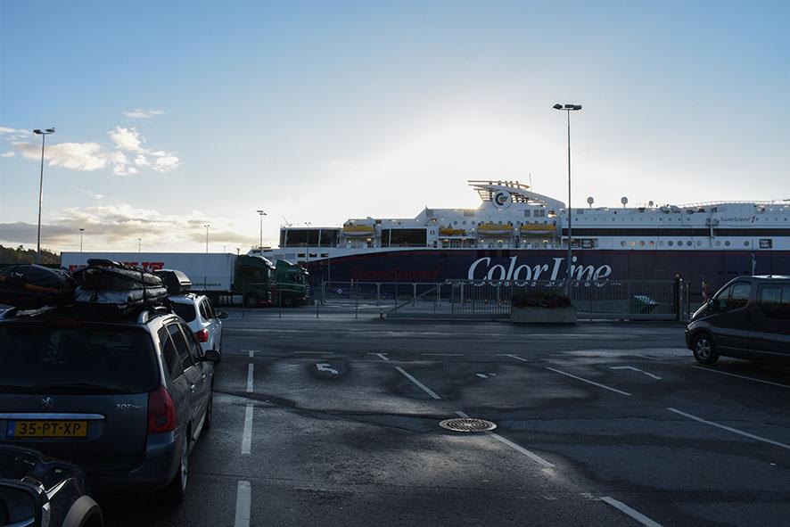 Boot Noorwegen Denemarken