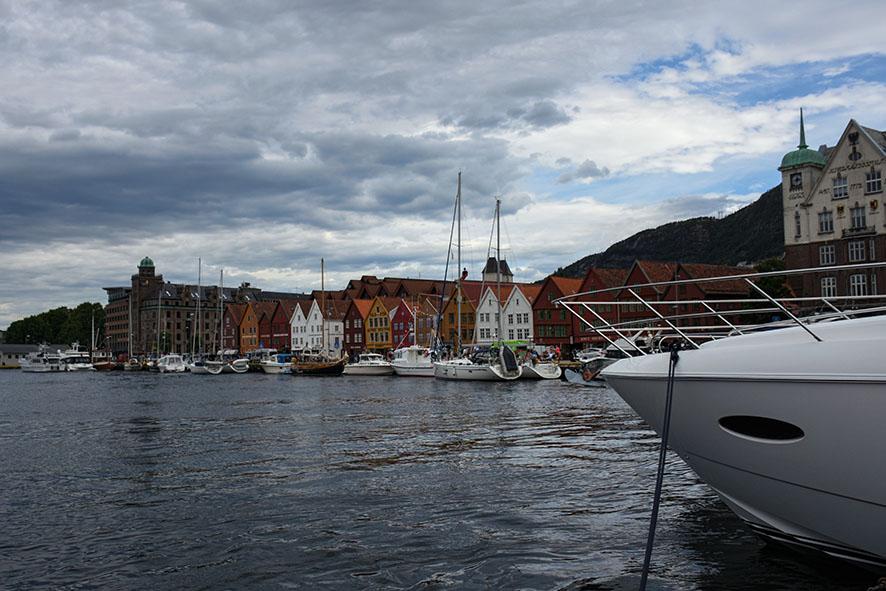 Haven van Bergen Noorwegen