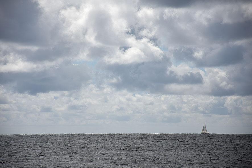 Noordzee bij Lista Noorwegen