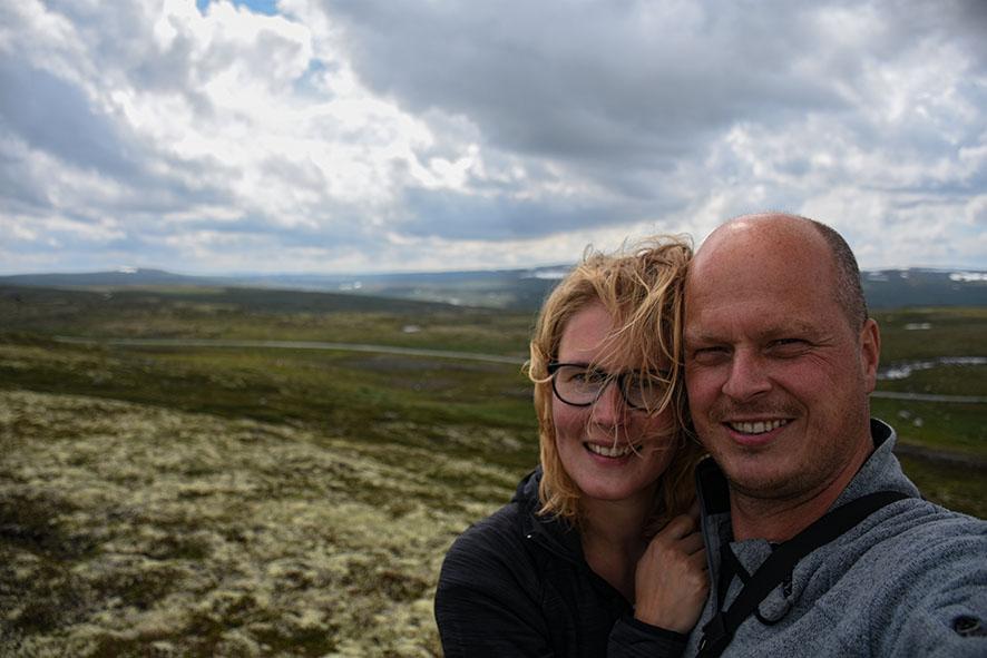 Hardangervidda selfie
