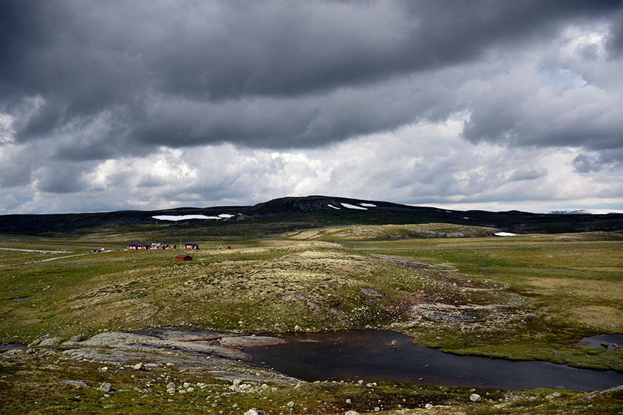 Hardangervidda uitzicht