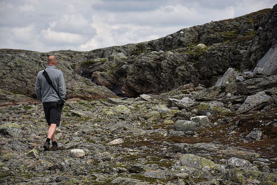 Wandeling op de Hardangervidda Noorwegen