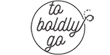 To Boldly Go Sticky Logo